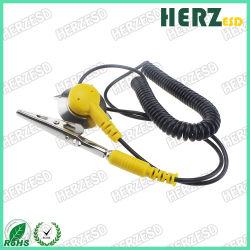 Цвет черный желтый кабель соединения на массу от электростатического разряда