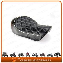 Sede di cuoio sola dell'accessorio del motociclo per Harley Davidson-Oumurs