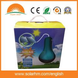 3W6V tragbare Solar-LED-Beleuchtung mit eingebautem Akku