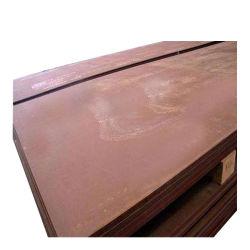 Xar500 X120mn12 La placa de desgaste abrasión de la hoja de metal resistente de chapa de acero resistente al desgaste