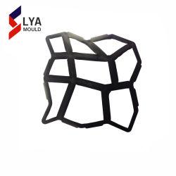 장식적인 원예용 도구 콘크리트는 뜰을 만들기 위하여 장신구 경로를 주조한다