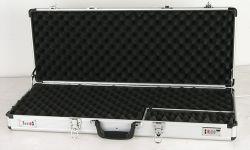 スライバアルミニウム短い手銃の堅いロックの箱