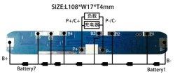7s8a de Module van BMS voor e-Fiets, e-Autoped het Pak van de Batterij van het Lithium van de Macht