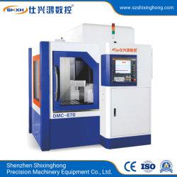 Alta velocità di CNC DMC-870 che intaglia il metallo della fresatrice che elabora la macchina utensile verticale di Torno Mecanico del centro di lavorazione del macchinario