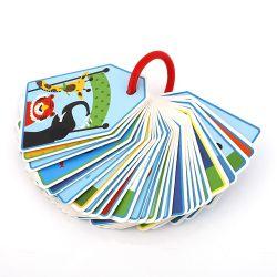 بطاقة ذاكرة Flash للتعليم المبكر للأطفال، بطاقة ألعاب، حجم قابل للتخصيص، مادة