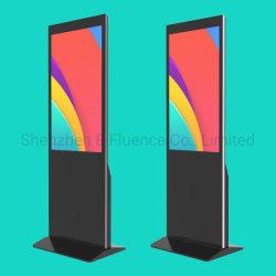 """43"""" soporte de suelo Pcap capacitivos G+G con pantalla táctil interactiva Sigage Digital, la publicidad a la pantalla LCD Pantalla táctil capacitiva proyectada/Pantalla táctil de LCD"""
