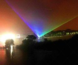 방수 RGB 22W 레이저 광 단계 성과 옥외 Laser