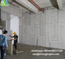 Revestimento de paredes decorativas Leve o painel do tipo sanduíche com isolamento do painel da parede de concreto