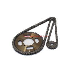 سلسلة بكرات سلسلة التوقيت ذات الدورات الآلية عالية الجودة الخاصة بسلسلة المحرك