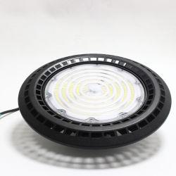 Matrijs Gegoten LEIDENE van het UFO van de Verlichting van de Lamp van de Mijnbouw van de Zaal van het Pakhuis van het Aluminium Industriële IP65 Hoge Baai Lichte 50With100With120With150With200With240W