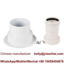Vaillant Bosch Immergas niedrige Gas-Dampfkessel-kondensierende Ofen-Aluminiumkoaxialkamin-Unterseite