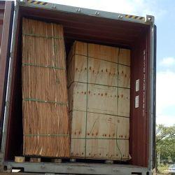 Feuille de placage décoratif un grade de 0.5mm placage de parement en bois de pin radiata sans l'écrou pour le mobilier
