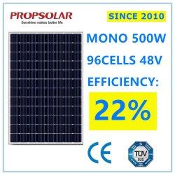 Super Power 500W monocristalino Perc PV Inicio Panel de sistema de Energía Solar