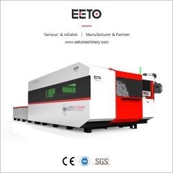 de Scherpe Machine van de Lijst van de Uitwisseling van de Macht van de Laser 6000W Raycus