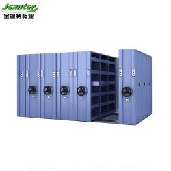 コンパクトな避難所密なフレームの高密度移動式棚付けの収納キャビネット