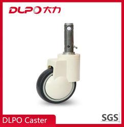 6-дюймовый плунжерного типа одинарного или двойного колеса центральной панели управления самоустанавливающееся колесо
