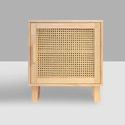 현대적인 사각형 목재 나이트 스탠드 사이드/엔드/커피/액센트 테이블