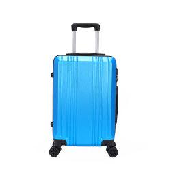 ثبت [بست] رخيصة 3 قطعة ألومنيوم حامل متحرّك [أبس] حقيبة حقيبة مع عجلات قوّيّة