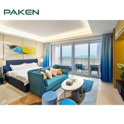 Hoher Grad-Landhaus-Rücksortierung-Bett-Raum-Möbel stellten für Hotel ein