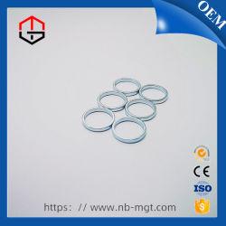 Anneau magnétique à aimant néodyme fer bore de zinc pour le rouge à lèvres / parfum