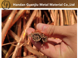 Trozo de alambre de cobre el 99,95% de pureza el mejor precio del cobre