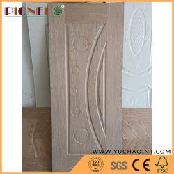 850 x 2150X3.0mm EV Cherry Ontwikkelde Houten fineer HDF deur Skin