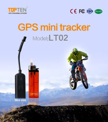 Véhicule chaud voiture satellite GPS tracker alarme avec Geo-Fence, voie d'alerte sur le Web/SMS/APP (LT02-JU)