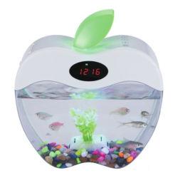 Mini USB аквариум с СВЕТОДИОДНЫЙ ИНДИКАТОР МИНИ-рыба топливного бака