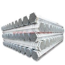 Tubos redondos Tubo de Aço Galvanizado de peso para estruturar o material de construção