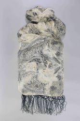 2019 Nuevo estilo 100%Poliéster suave seda Faux mantón para damas