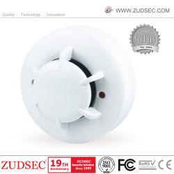 100% digital convencional Novo Detector de fumo a 4 fios com as coberturas contra poeira amplamente utilizado para o sistema de alarme GSM/PSTN