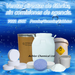 De Directe Verkoop van de fabriek, Trichloroisocyanuric Zure Chemische product van het Zwembad TCCA