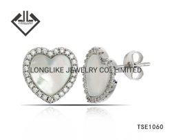 Серебряные украшения и латунные украшения с СС жемчужина для женщин