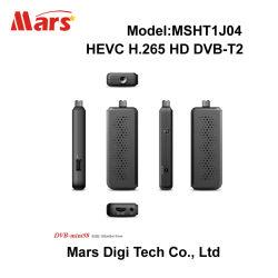Mstar 7T10 HD FTA H.264 MPEG-4 Hevc H.265 DVB-T2の小型セットトップボックス