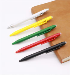 단순한 설계 금속 펜 클립 플라스틱 지울 수 있는 젤 펜
