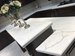 食器棚またはレストランまたはコーヒーテーブルの上または浴室の虚栄心のためのホーム装飾か人工的な水晶石または平板またはカウンタートップ