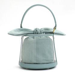 フランネルの袋の女性袋が付いている贅沢な革ハンドバッグのルンペン袋