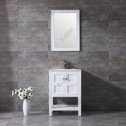 Сша стиле небольших размеров ванной комнате цельной древесины
