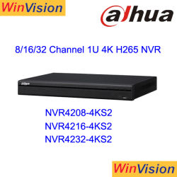 Dahua NVR4232-4ks2 H. 265 4K Videorecorder van Netowrk van het Toezicht 32CH de Digitale