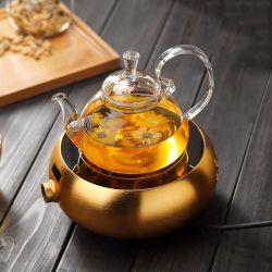 1300ml tetera de vidrio Pyrex de borosilicato de alta agua olla de té y café.