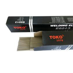Non-Smoke barras de soldadura de acero al carbono E6013