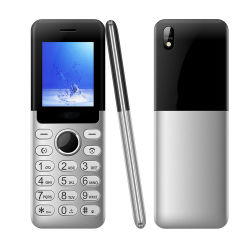 2.0 pulgadas OEM Carcasa Metálica Super Slim simple teléfono móvil