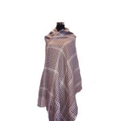 Леди мода вязание Wooly шелковистой как одеяло шаль шаль устройства обвязки сеткой