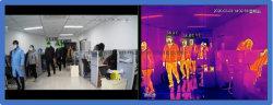 La fièvre de l'écran thermique de la température corporelle d'alarme appareil photo