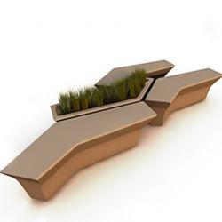 2020新しいコレクションのファイバーガラスの植木鉢およびFRPの組合せの椅子