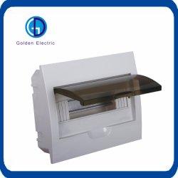 ターミナル組合せの配電箱、電気分電盤をつけるMCB
