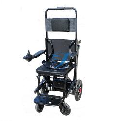 Presidenza di rotella elettrica autoalimentata strumentazione di Chiair della scala dell'evacuamento della lega di alluminio dell'ospedale 2in1