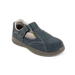 Pattini di sicurezza di cuoio del sandalo dei pattini di lavoro di sport della pelle scamosciata