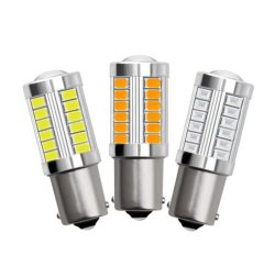 LED SMD Unjoyliod 33S25 P21W Ba15s 1156 5730 5630 LEDs Luz trasera de aparcamiento automático bombillas LED de la fábrica de coches