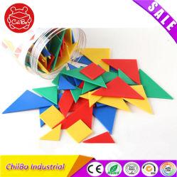 Дети Tangrams пластиковые головоломки игрушка в области образования
